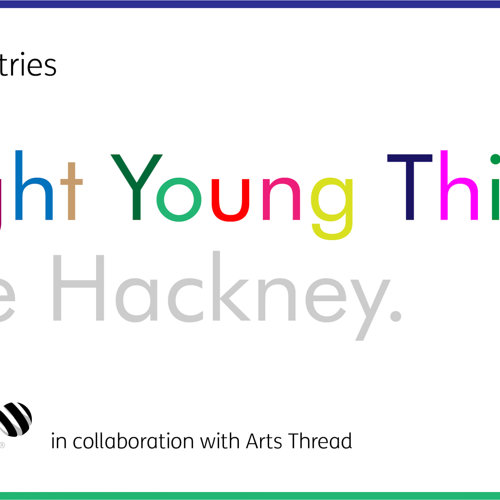 MACTAC GRAPHICS BRIGHT YOUNG THINGS TAKE HACKNEY COMPETITION